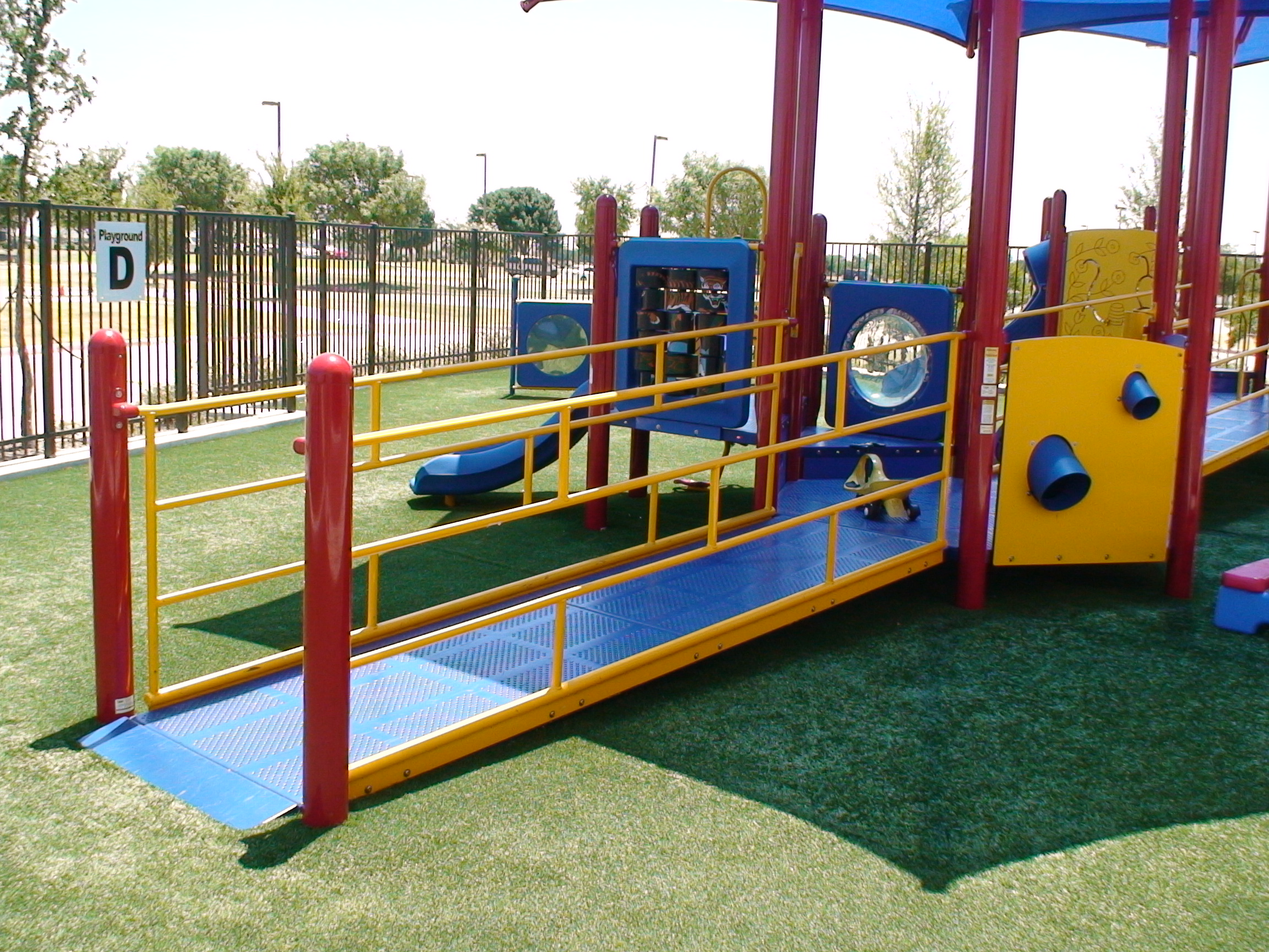 Special Needs Ministry Outdoor Playground