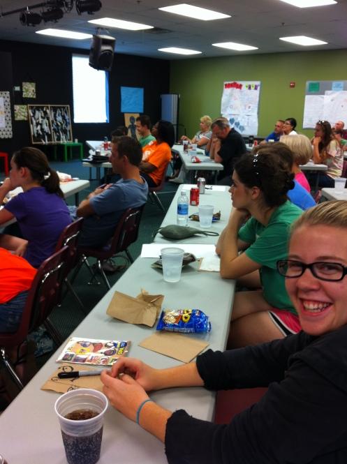 Stonebriar Community Church volunteer Training August 2012