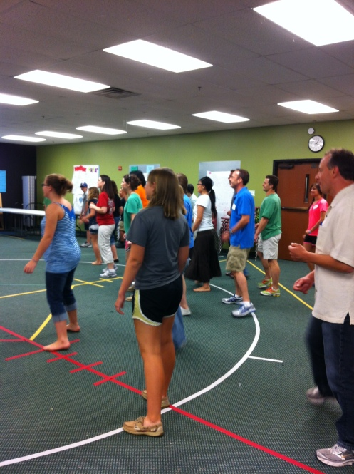 Stonebriar Community Church Volunteer Training Zumba August 2012