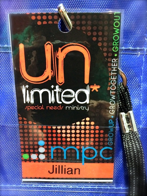 Unlimited Special Needs Ministry Volunteer Lanyards